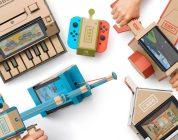 Nintendo Labo ne s'adaptera pas correctement à la Nintendo Switch OLED