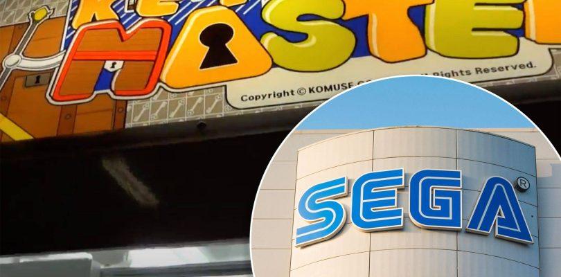 SEGA fait face à un recours collectif concernant les machines arcade Key Master