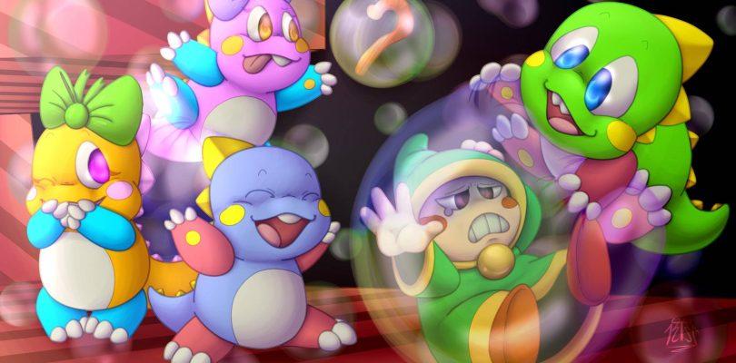 La mascotte Bub de Bubble Bobble devient VTuber