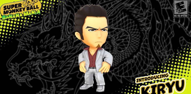 Kazuma Kiryu de Yakuza sera jouable dans Super Monkey Ball : Banana Mania