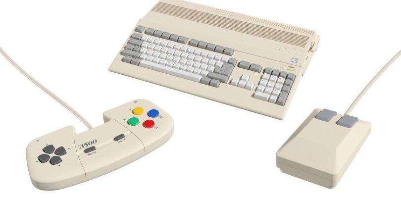 L'Amiga est la dernière console de jeu en mode mini