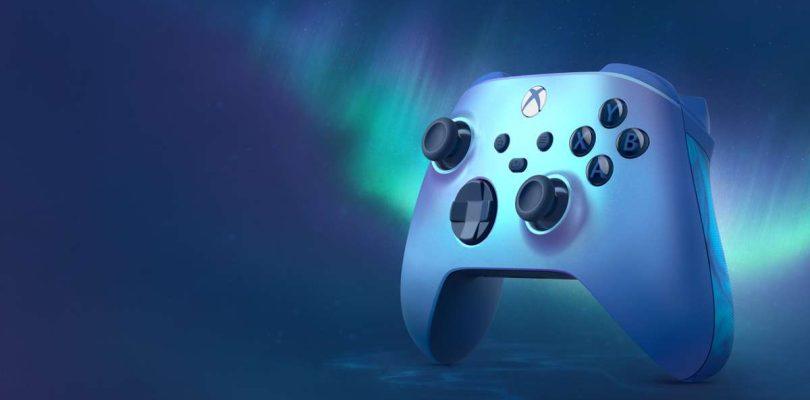 Annonce de la manette Xbox – Édition spéciale Aqua Shift