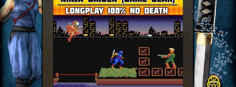 Ninja Gaiden (Game Gear) commenté - No Death - Gameplay 100%