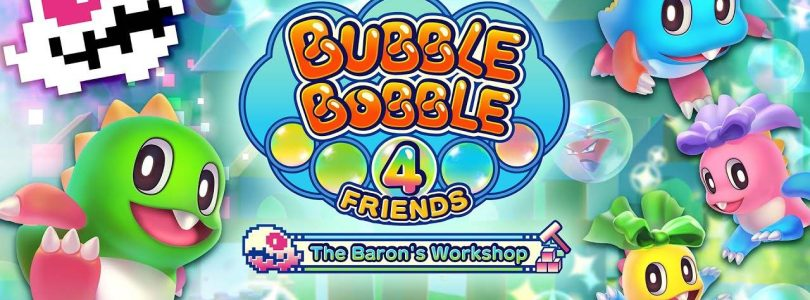 Bubble Bobble 4 Friends: The Baron's Workshop arrive le 30 septembre