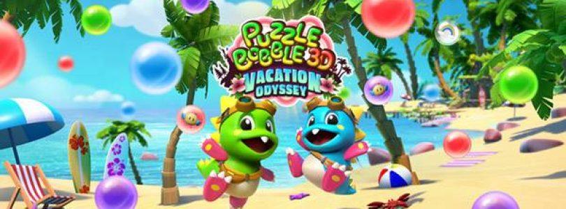 Puzzle Bobble 3D: Vacation Odyssey arrive le 5 octobre sur PS5, PS4 et PSVR