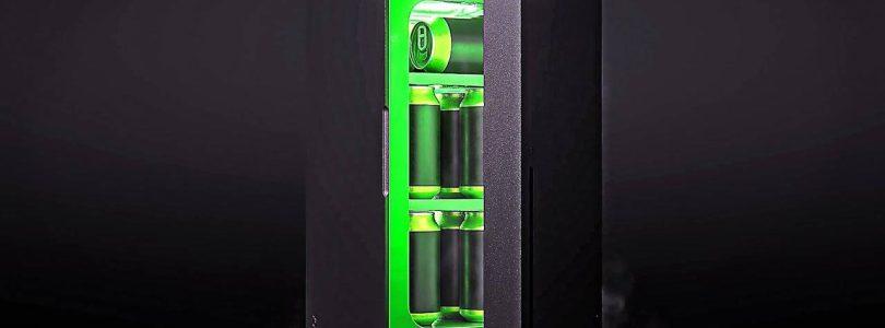Le mini-réfrigérateur Xbox Series X sortira en décembre pour 99€